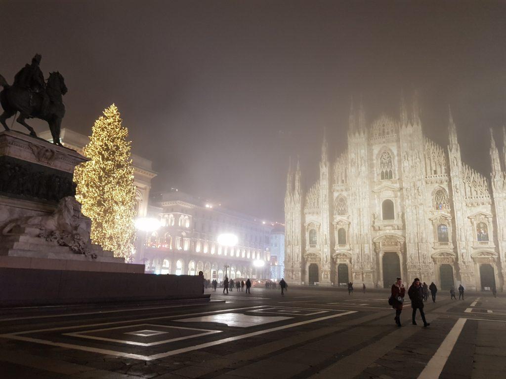 Mailand im Winter