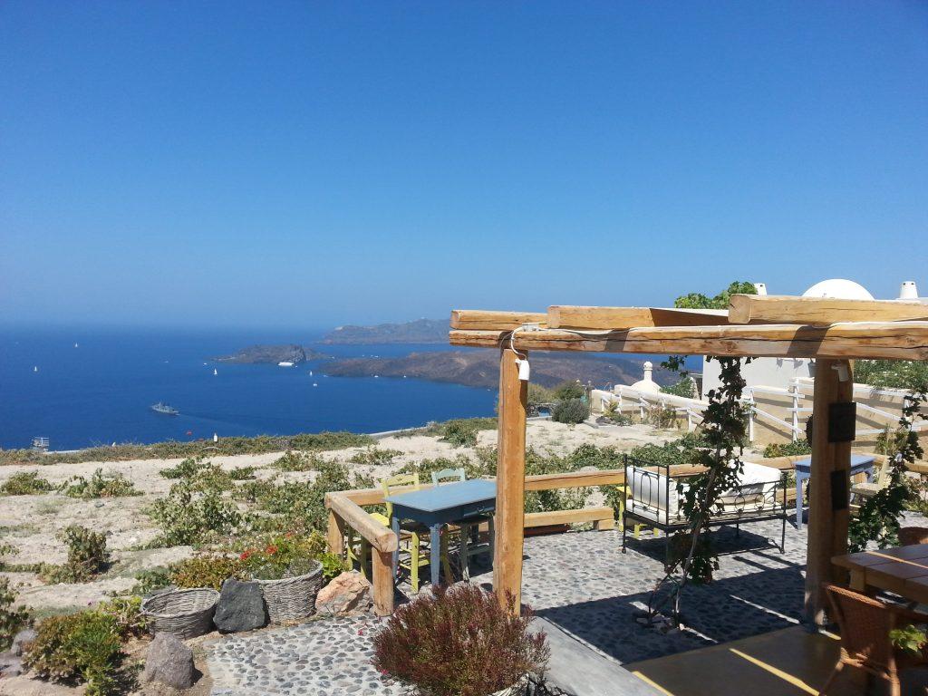 Aegagros, Santorini