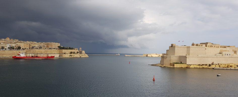 die drei Städte und Valletta