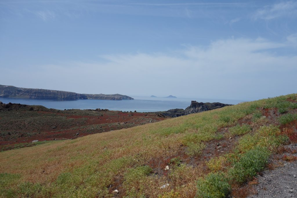 Vulkaninseln Nea Kameni