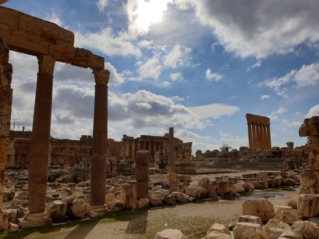 Mein Jahr 2020: Libanon - Ruinen von Baalbek