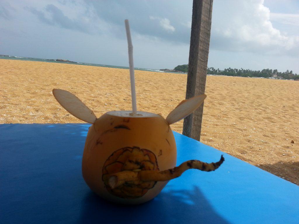 Unawatuna, Sri Lanka Strand