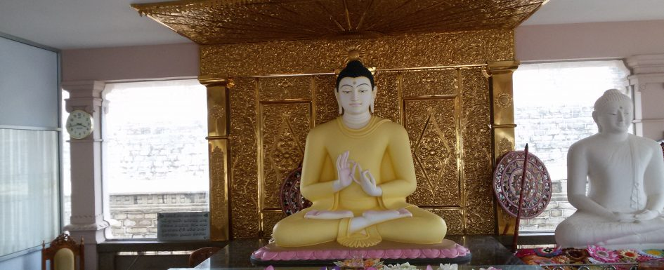 Buddha-Statue, Anurhadhapura, Sri Lanka