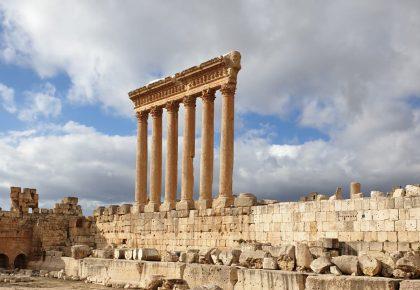 Jupitertempel, Ruinen von Baalbek