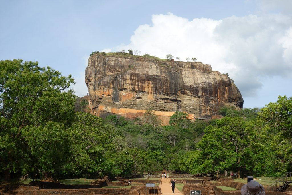 Sigiriya, der Löwenfels