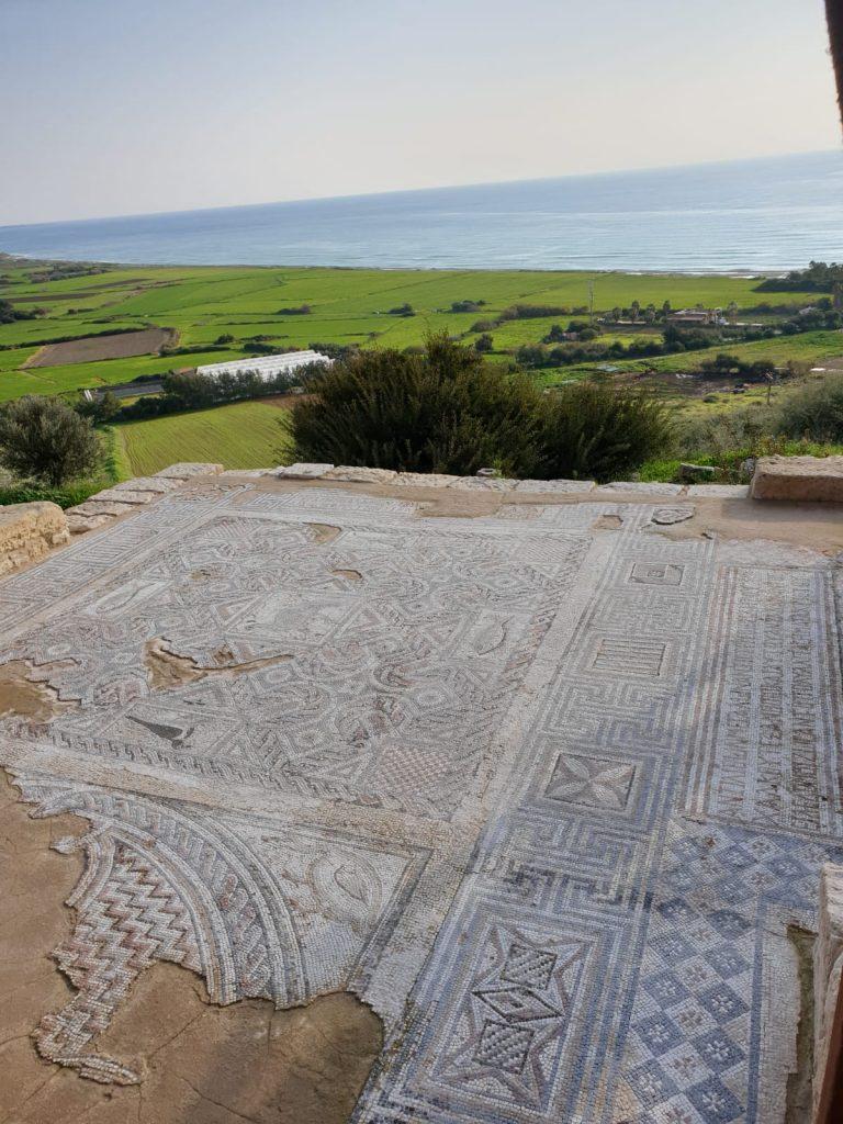Bodenfließen in Ancient Kourion