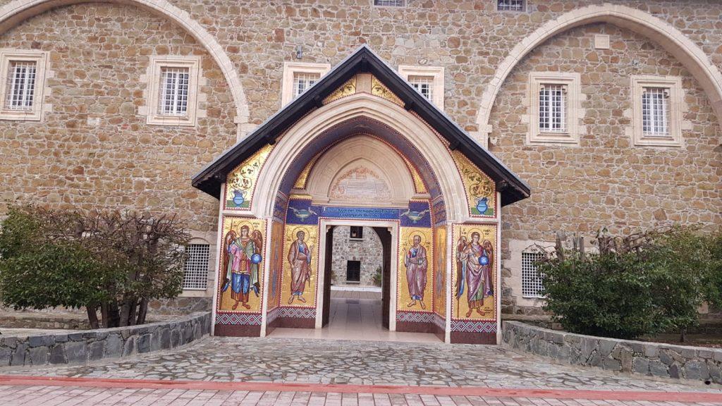 Eingang des Kloster Kykkos