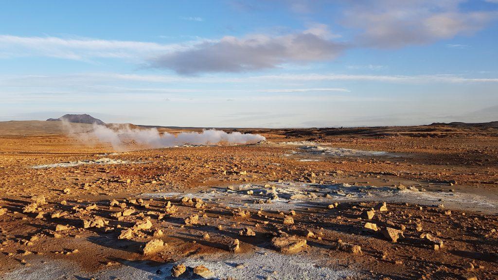 Hverir, Island Geothermalpark am DIamond Circle